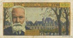 5 Nouveaux Francs VICTOR HUGO FRANCE  1965 F.56.19 TB+