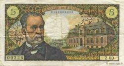 5 Francs PASTEUR FRANCE  1968 F.61.08 TB+