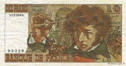 10 Francs BERLIOZ FRANCE  1974 F.63.03 TTB