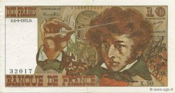 10 Francs BERLIOZ  FRANCE  1974 F.63.05 SUP