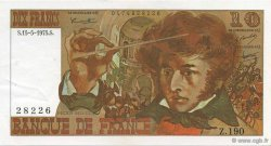 10 Francs BERLIOZ FRANCE  1975 F.63.10 SPL