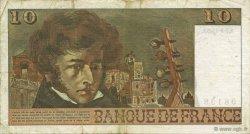10 Francs BERLIOZ FRANCE  1975 F.63.12 TTB