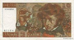 10 Francs BERLIOZ FRANCE  1975 F.63.12 SUP