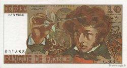 10 Francs BERLIOZ FRANCE  1978 F.63.23 SPL