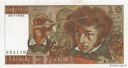 10 Francs BERLIOZ FRANCE  1978 F.63.24 SPL+
