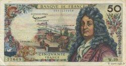 50 Francs RACINE FRANCE  1962 F.64.03 pr.TTB