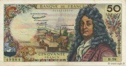 50 Francs RACINE FRANCE  1963 F.64.05 TTB