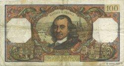 100 Francs CORNEILLE FRANCE  1972 F.65.39 TB