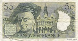 50 Francs QUENTIN DE LA TOUR FRANCE  1976 F.67.01 TTB