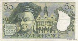 50 Francs QUENTIN DE LA TOUR FRANCE  1977 F.67.02 TTB+