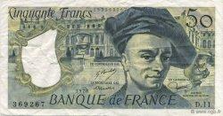 50 Francs QUENTIN DE LA TOUR FRANCE  1978 F.67.03 TTB