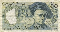 50 Francs QUENTIN DE LA TOUR FRANCE  1986 F.67.12 TB