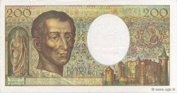 200 Francs MONTESQUIEU Modifié FRANCE  1994 F.70/2.01 pr.SUP