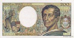200 Francs MONTESQUIEU alphabet 101 FRANCE  1992 F.70bis.01 SPL+