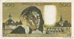 500 Francs PASCAL FRANCE  1968 F.71.01 TTB
