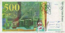 500 Francs PIERRE ET MARIE CURIE FRANCE  1994 F.76.01 pr.SUP