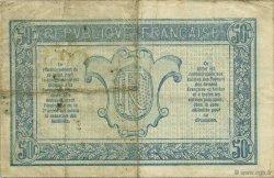 50 Centimes TRÉSORERIE AUX ARMÉES FRANCE  1917 VF.01.02 pr.TTB