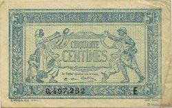 50 Centimes TRÉSORERIE AUX ARMÉES FRANCE  1917 VF.01.05 SUP