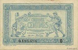 50 Centimes TRÉSORERIE AUX ARMÉES FRANCE  1917 VF.01.15 SUP