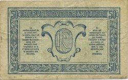 50 Centimes TRÉSORERIE AUX ARMÉES FRANCE  1919 VF.02.03 TTB