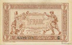 1 Franc TRÉSORERIE AUX ARMÉES FRANCE  1917 VF.03.07 pr.NEUF