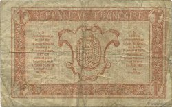 1 Franc TRÉSORERIE AUX ARMÉES FRANCE  1919 VF.04.08 B+