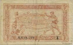 1 Franc TRÉSORERIE AUX ARMÉES FRANCE  1919 VF.04.11 TTB