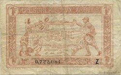 1 Franc TRÉSORERIE AUX ARMÉES FRANCE  1919 VF.04.13 TTB