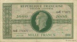 1000 Francs chiffres maigres FRANCE  1945 VF.13.02 TTB