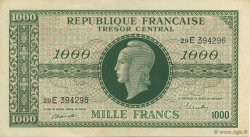 1000 Francs chiffres maigres FRANCE  1945 VF.13.02 SUP+