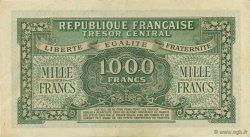 1000 Francs chiffres maigres FRANCE  1945 VF.13.02 SUP+