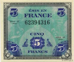 5 Francs FRANCE  1944 VF.17.01 NEUF