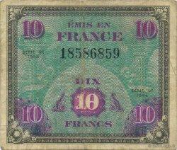 10 Francs FRANCE  1944 VF.18.01 TTB