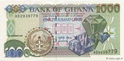 1000 Cedis GHANA  1996 P.32a NEUF