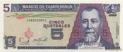 5 Quetzales GUATEMALA  2006 P.110 NEUF