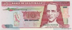 10 Quetzales GUATEMALA  2006 P.111a NEUF