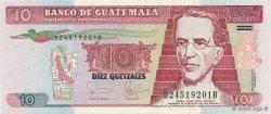 10 Quetzales GUATEMALA  2006 P.111a NEUF