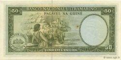 50 Escudos GUINÉE PORTUGAISE  1971 P.044a SPL