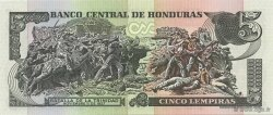5 Lempiras HONDURAS  2003 P.085 NEUF