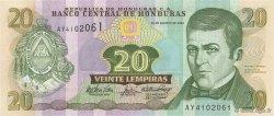 20 Lempiras HONDURAS  2004 P.087 NEUF