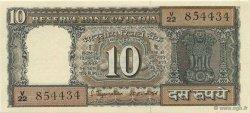 10 Rupees INDE  1970 P.059b SPL