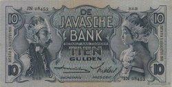 10 Gulden INDES NEERLANDAISES  1939 P.079 SPL