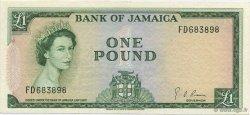 1 Pound JAMAÏQUE  1964 P.51Ce SUP+