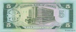 5 Dollars LIBERIA  1991 P.20 NEUF
