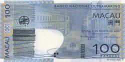 100 Patacas MACAO  2005 P.082 NEUF