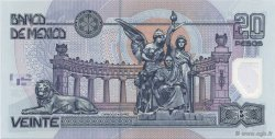 20 Pesos MEXIQUE  2001 P.116a NEUF