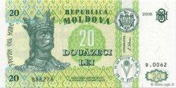20 Lei MOLDAVIE  2006 P.13 NEUF