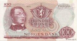 100 Kroner NORVÈGE  1971 P.38d NEUF