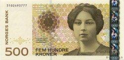 500 Kroner NORVÈGE  2000 P.51b NEUF