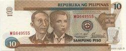 10 Pesos PHILIPPINES  2000 P.187f NEUF